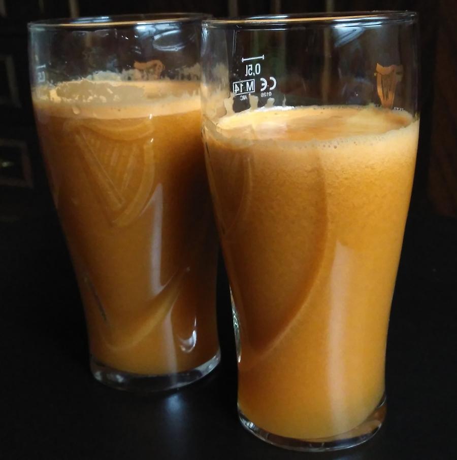 Delicioso y saludable Desayuno Naranja