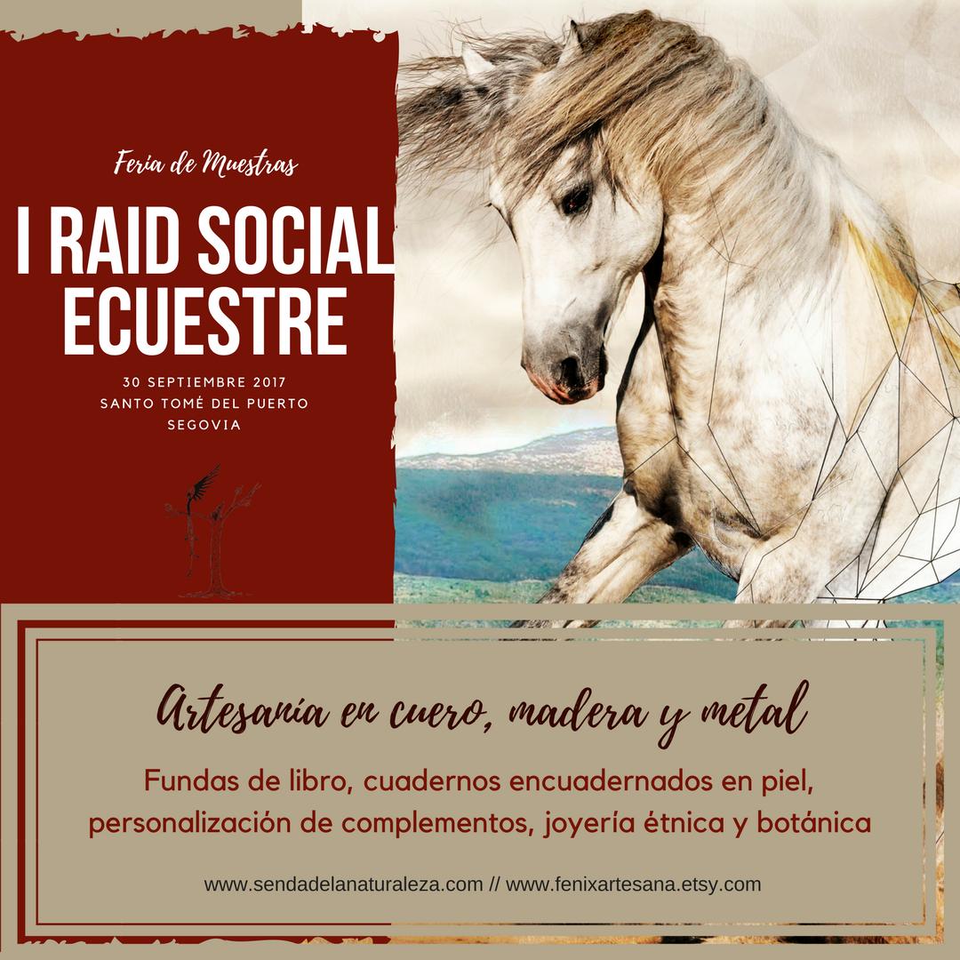 1er Raid Social Ecuestre en Santo Tomé del Puerto (Segovia)