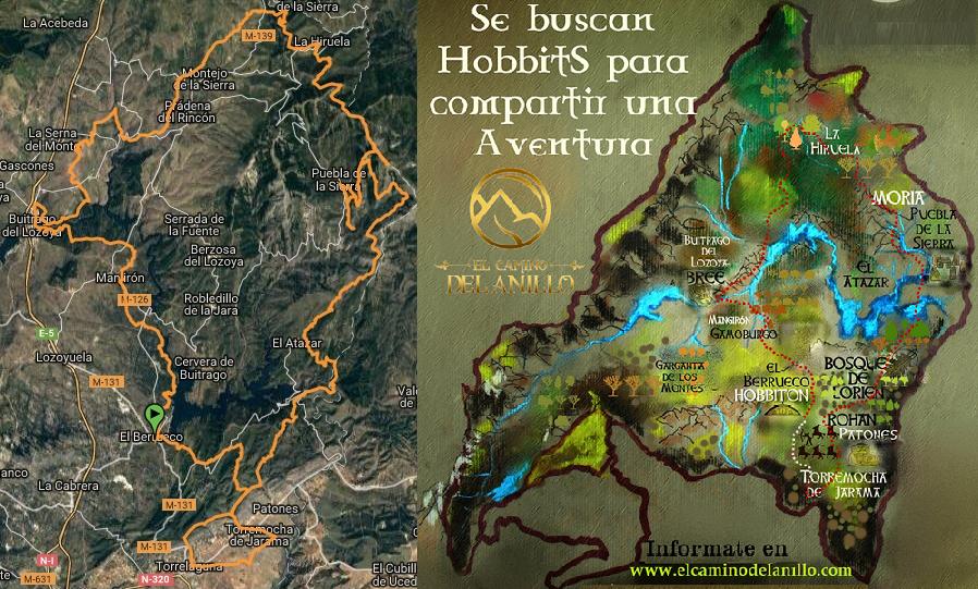 Gema Álvarez y la Comunidad del Anillo en la Sierra de Madrid